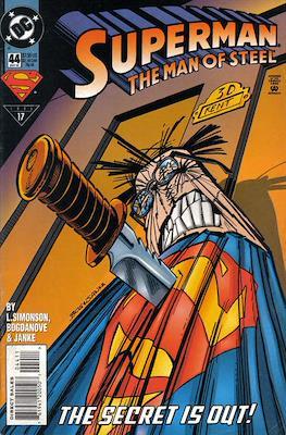 Superman: The Man of Steel (Comic book) #44