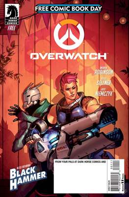 Overwatch Free Comic Book Day 2018