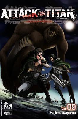 Attack on Titan (Rústica con solapas) #9