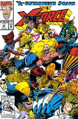 X-Force Vol. 1 (1991-2002) (Comic Book) #16