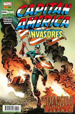 Marvel 80º Aniversario: Capitán América y los Invasores (Grapa 32 pp) #