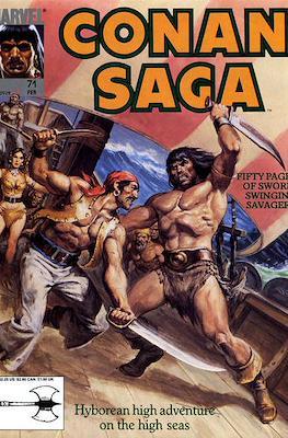 Conan Saga (Comic-book) #71