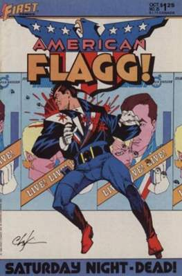 American Flagg! (Comic book) #25