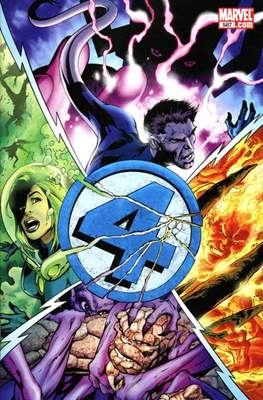 Fantastic Four Vol. 3 (Comic Book) #587