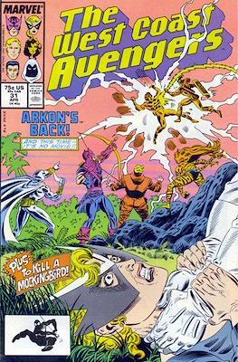 West Coast Avengers Vol. 2 (Comic-book. 1985 -1989) #31