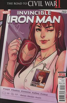 Invincible Iron Man (Vol. 2 2015-2017) (Comic-book) #10