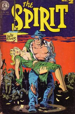 The Spirit (1983-1992) (Comic book. 32 pp) #2