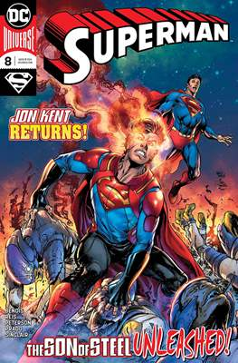 Superman Vol. 5 (2018-) (Comic Book) #8