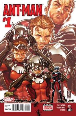 Ant-Man Vol. 1 (2015) (Comic Book) #1