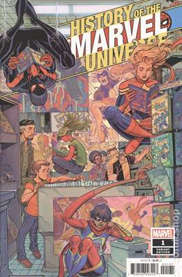 History of the Marvel Universe (Variant Cover) (Comic Book) #1.1