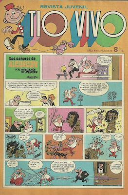 Tio Vivo. 2ª época (1961-1981) (Grapa) #678