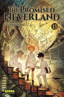 The Promised Neverland (Rústica con sobrecubierta) #13