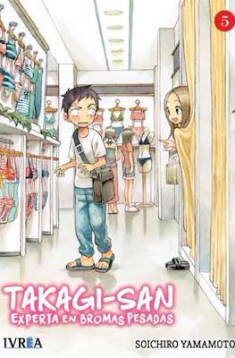 Takagi-san: Experta en bromas pesadas (Rústica con sobrecubierta) #5