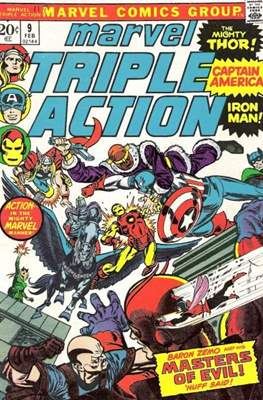Marvel Triple Action Vol 1 (Comic-book.) #9
