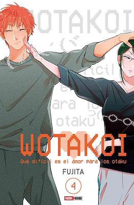 Wotakoi: Qué difícil es el amor para los Otaku (Rústica con sobrecubierta) #4