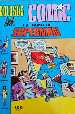 Colosos del Cómic: la familia Superman #2