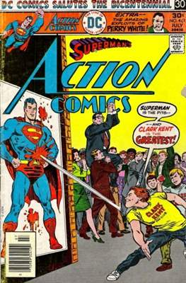 Action Comics Vol. 1 (1938-2011; 2016-) (Comic Book) #461