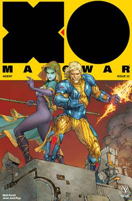 X-O Manowar Vol. 4 (2017) (Comic-book) #22