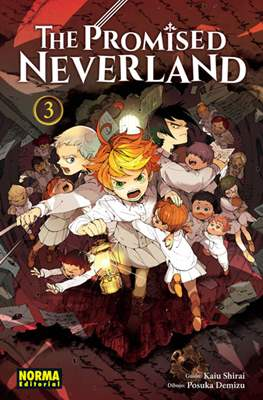 The Promised Neverland (Rústica con sobrecubierta) #3