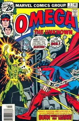 Omega The Unknown (Comic Book. 1976 - 1977) #3
