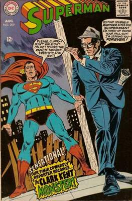 Superman Vol. 1 / Adventures of Superman Vol. 1 (1939-2011) (Comic Book) #209
