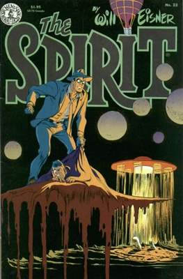 The Spirit (1983-1992) (Comic book. 32 pp) #22