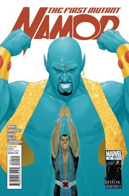 Namor: The First Mutant (2010-2011) (Comic Book) #9