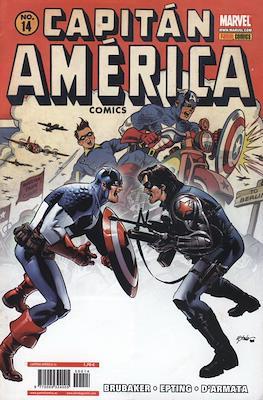 Capitán América Vol. 7 (2005-2011) (Grapa) #14