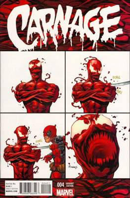 Carnage Vol. 2 (2016 Variant Cover) (Comic Book) #4