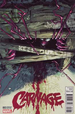 Carnage Vol. 2 (2016 Variant Cover) (Comic Book) #3.1