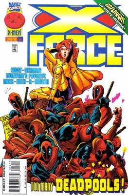 X-Force Vol. 1 (1991-2002) (Comic Book) #56