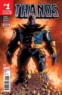Thanos (Comic-book) #1
