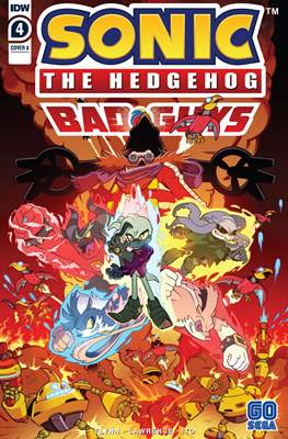 Sonic The Hedgehog: Bad Guys #4