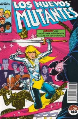 Los Nuevos Mutantes Vol. 1 (1986-1990) (Grapa 32-64 pp) #36