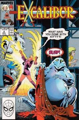Excalibur Vol. 1 (Comic Book) #2