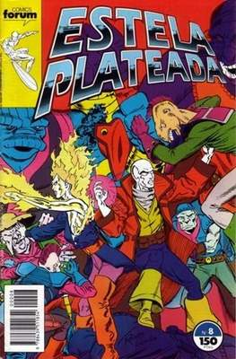 Estela Plateada Vol. 1 / Marvel Two-In-One: Estela Plateada & Quasar (1989-1991) (Grapa 32-64 pp) #8