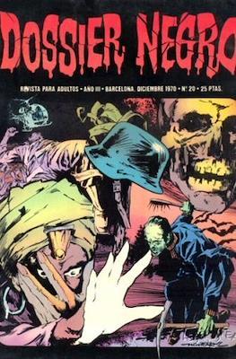 Dossier Negro (Rústica y grapa [1968 - 1988]) #20