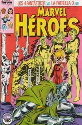 Marvel Héroes (1986-1993) (Grapa 32 pp) #14