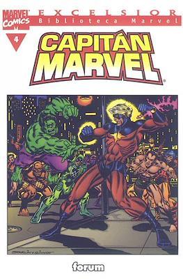 Biblioteca Marvel: Capitán Marvel (2002) (Rústica 160 pp) #4