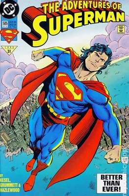 Superman Vol. 1 / Adventures of Superman Vol. 1 (1939-2011 Variant Cover) (Comic Book) #505