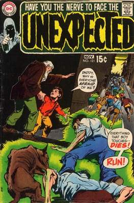 The Unexpected (Comic Book) #121