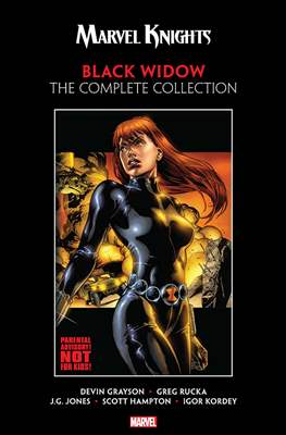 Marvel Knights Black Widow: The Complete Collection