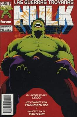Hulk: Las guerras troyanas (Grapa 48 pp) #2