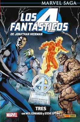 Marvel Saga: Los 4 Fantásticos de Jonathan Hickman (Cartoné) #3