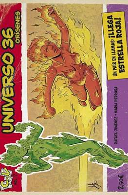 Universo 36 Orígenes (Grapa 20 pp) #2