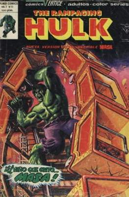 The Rampaging Hulk (Rústica 56 pp) #11