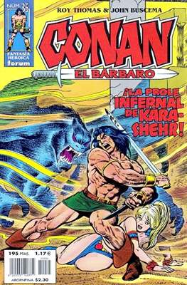 Conan el Bárbaro (1998-2001) (Grapa 24 pp) #35