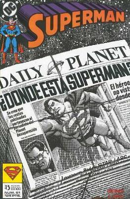 Superman: El Hombre de Acero / Superman Vol. 2 (Grapa 36 pp) #61