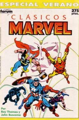 Clásicos Marvel (1988-1991). Especiales (Grapa 64 pp) #5