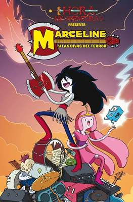 Marceline y las divas del terror